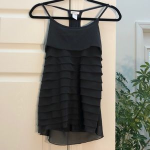 Design Think Dressy Charcoal Top